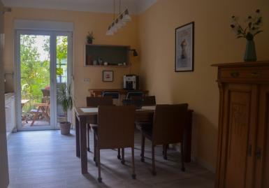 Küche Blick Richtung Terrasse