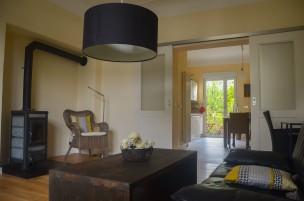 Wohnzimmer Blick Richtung Küche